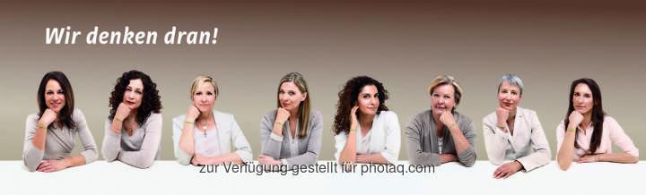 Fotostreifen Prominente Frauen : Weltkrebstag: Informationskampagne des Brustkrebs-Früherkennungsprogramms wird heuer fortgesetzt : Fotocredit: Fotocredit: Fotostreifen Prominente Frauen: Brustkrebs-Früherkennungsprogramm/Oliviera