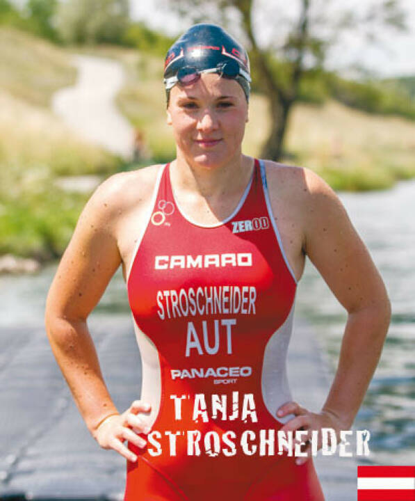 Tanja Stroschneider rot-weiss-rot