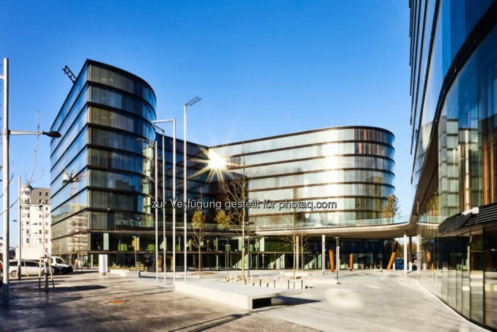 Mit Beginn des Jahres hat die Erste Group begonnen ihr neues Headquarter, den Erste Campus auf dem ehemaligen Gelände des Wiener Südbahnhofs am Areal des Quartier Belvedere, zu besiedeln (C) Erste Group, © Aussender (08.02.2016)