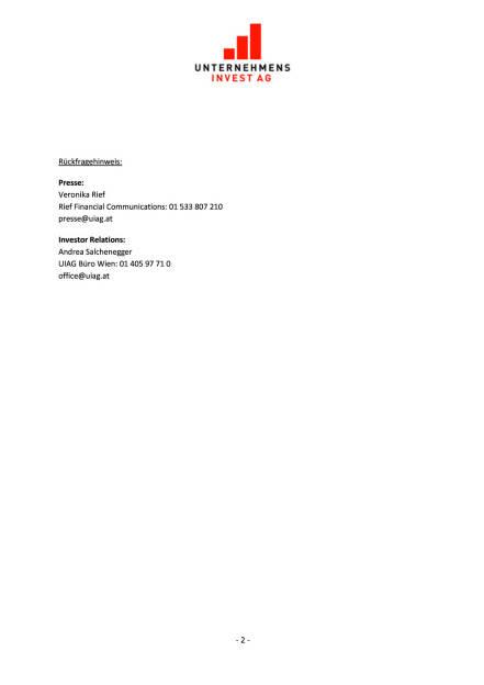 UIAG Holding stockt MLU-Beteiligung auf, Seite 2/2, komplettes Dokument unter http://boerse-social.com/static/uploads/file_610_uiag_holding_stockt_mlu-beteiligung_auf.pdf (08.02.2016)