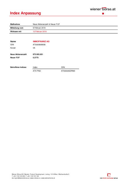 Index Anpassung, Seite 1/2, komplettes Dokument unter http://boerse-social.com/static/uploads/file_612_index_anpassung.pdf (08.02.2016)