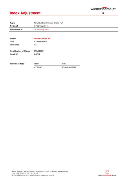 Index Anpassung, Seite 2/2, komplettes Dokument unter http://boerse-social.com/static/uploads/file_612_index_anpassung.pdf (08.02.2016)