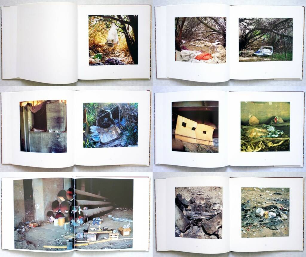 Anthony Hernandez - Landscapes for the Homeless, Sprengel Museum 1995, Beispielseiten, sample spreads - http://josefchladek.com/book/anthony_hernandez_-_landscapes_for_the_homeless, © (c) josefchladek.com (09.02.2016)