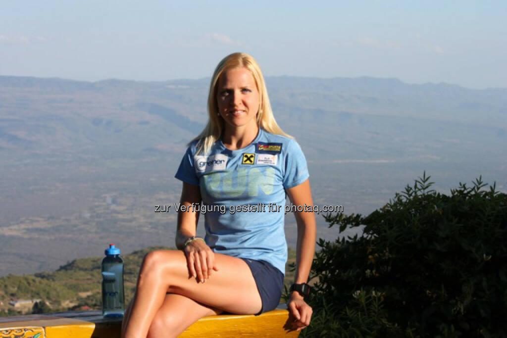 Anita Baierl, Trainingslager Kenia (C) Johannes Baierl, © Aussendung (10.02.2016)