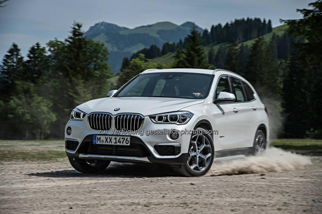 Neuer BMW X1 xDrive25d mit xLine : BMW Group mit Rekord-Absatz im Januar : © BMW Group, © Aussendung (10.02.2016)