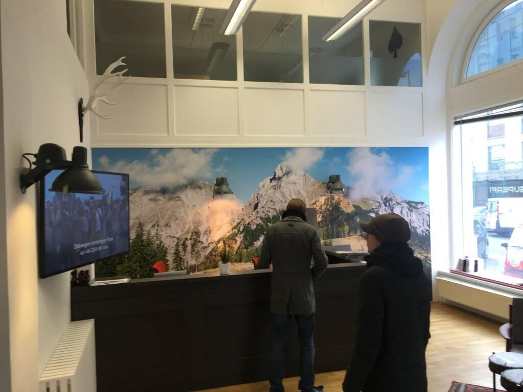 Zu Besuch bei Vice Alps, wie man sieht (11.02.2016)