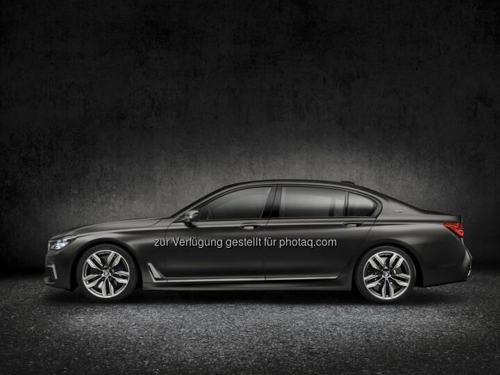 BMW M760Li xDrive (Topmodell der BMW 7er Baureihe) : BMW auf dem 86. Internationalen Automobil-Salon Genf 2016 : © BMW Group