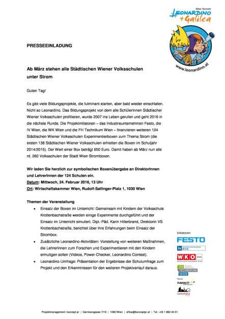 Einladung zur Leonardino Kick-off Veranstaltung am Mittwoch 24.02.2016, 13 Uhr, Seite 1/2, komplettes Dokument unter http://boerse-social.com/static/uploads/file_635_einladung_zur_leonardino_kick-off_veranstaltung_am_mittwoch_24022016_13_uhr.pdf (15.02.2016)
