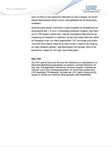 Laserspezialist LPKF nimmt zwei neue Märkte ins Visier, Seite 2/2, komplettes Dokument unter http://boerse-social.com/static/uploads/file_638_laserspezialist_lpkf_nimmt_zwei_neue_markte_ins_visier.pdf (15.02.2016)