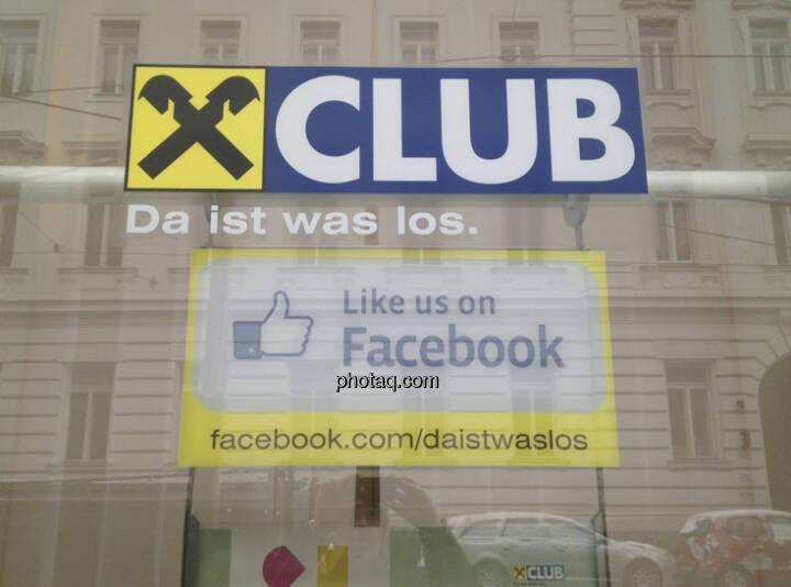 Raiffeisen Club Like us on Facebook
