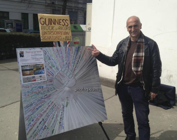 Friede: Unterschriften für Peace in our Hands