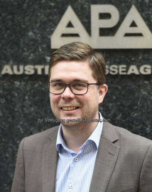 Markus Wimmer : Das Landesbüro Tirol der APA - Austria Presse Agentur hat seit 1. Februar 2016 eine neue redaktionelle Führung : Markus Wimmer hat die Leitung des Innsbrucker APA-Büros übernommen : Fotocredit: APA/Helmut Fohringer, © Aussender (16.02.2016)