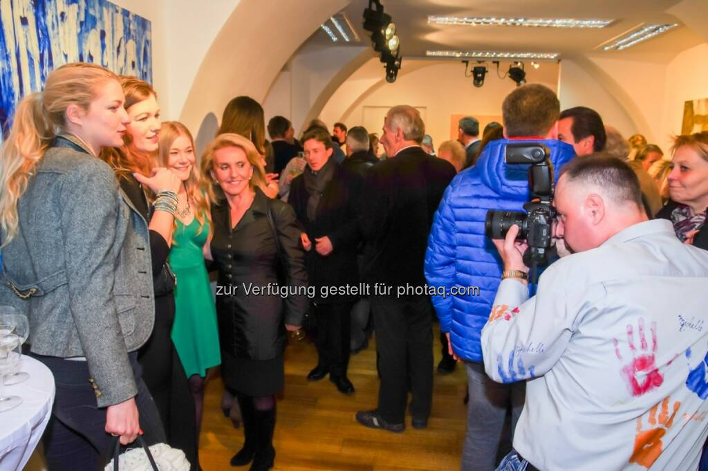 Eröffnungsfeier der Kunst-Galerie Contemplor, © Wolfgang Agnelli, Robert Rieger (16.02.2016)