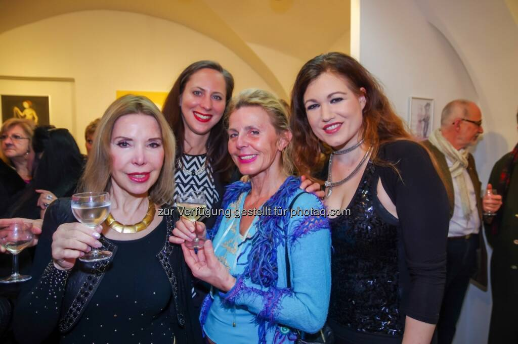 Friedrun West, Lisa Güner, Maria Lahr, Eva Meindl, © Wolfgang Agnelli, Robert Rieger (16.02.2016)
