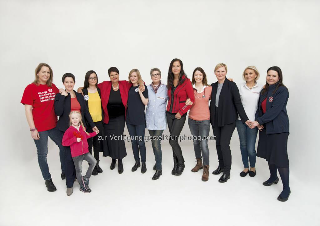 """""""Frauen helfen Frauen helfen"""" : Neue Kampagne der Wiener SPÖ Frauen """"Frauen helfen Frauen helfen"""" will Ehrenamtliche vernetzen und sozialen Zusammenhalt in Wien aufzeigen : Fotocredit: SPÖ Wien, © Aussender (18.02.2016)"""