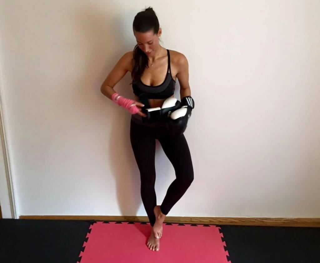 Training Boxen Sue Katzer (mit freundlicher Genehmigung), © Diverse  (18.02.2016)
