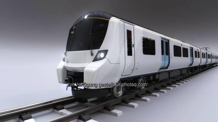 Sechsteiliger Nahverkehrszug auf Fahrzeugplattform Desiro City : Weitere 25 Züge von Siemens für Londoner Great-Northern-Strecke : Fotocredit: Siemens AG