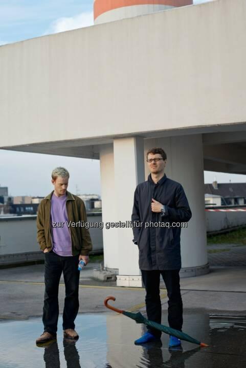 Henning Fehr & Philipp Rühr (Videokünstler) : Gewinner der zweiten BMW Art Journey : Ihr eingereichtes Projekt, The Art of Memory: Dub Music and the CCTV Tower, untersucht die stetig zunehmende Vernetzung des heutigen Lebens : Fotocredit: BMW Group