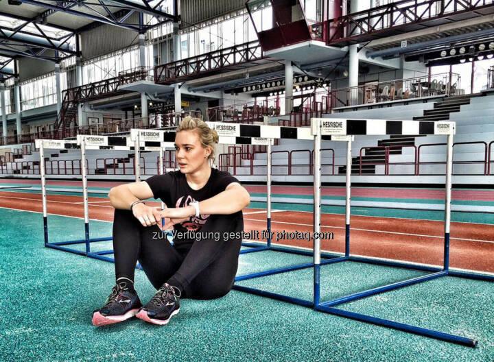 Christina Kiffe, Hürden, relax, Pause