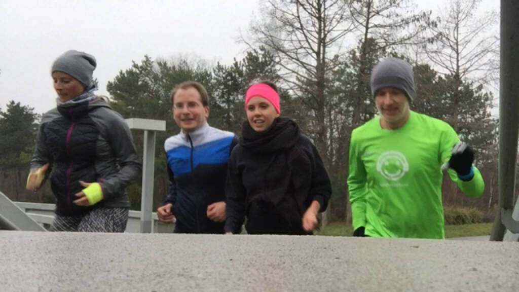 Karin Turki, Paul Pöltner, Hannah Sturm (alle Conda), Christian Drastil (18.02.2016)