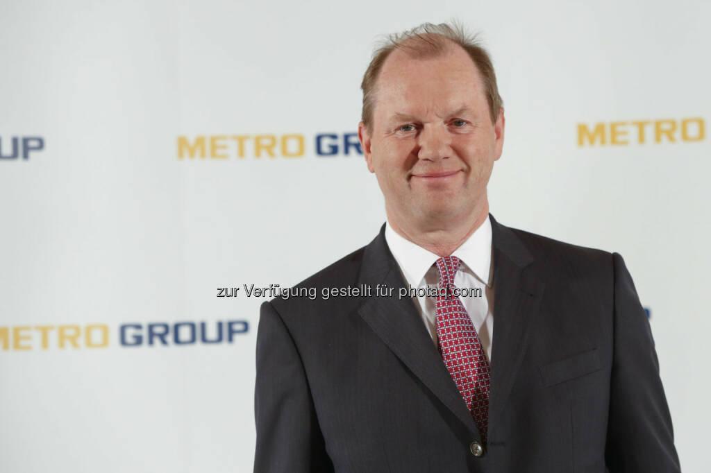 Jürgen B. Steinemann zum Aufsichtsratsvorsitzenden der Metro AG gewählt : © Metro Group, © Aussender (20.02.2016)