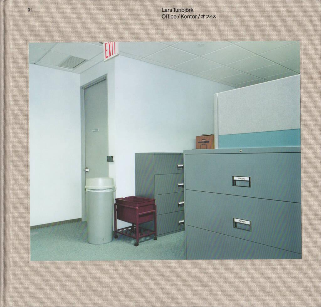 Lars Tunbjörk - Office / Kontor / オフィス, Journal 2002, Cover - http://josefchladek.com/book/lars_tunbjork_-_office_kontor, © (c) josefchladek.com (20.02.2016)