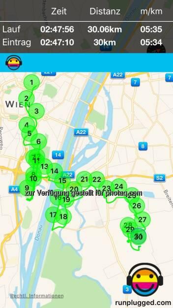 Map von der Aktivität am 21.02.2016 http://www.runplugged.com/app (22.02.2016)