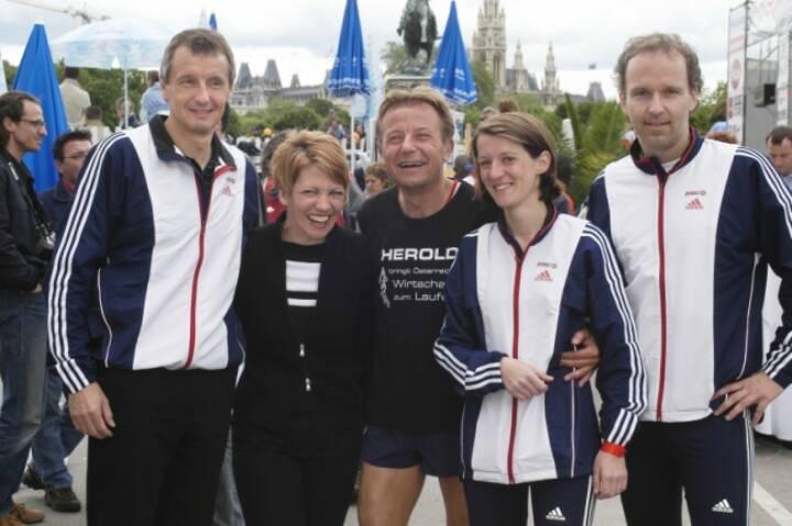 Vintage 2004: Martin Bartenstein, Margit Kaluza-Baumruker, Karl Schweitzer, Karin Artner, Christian Drastil