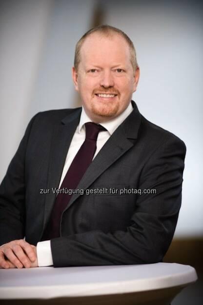 Richard Wilkinson, Head of Commercial Real Estate, Erste Group Bank AG : Erste Group stellt Blackstone für den Kauf von zwölf Logistikobjekten in CEE (RO, HU, SK und PL) fünfjährige Finanzierung in Höhe EUR 91 Mio zur Verfügung : Fotocredit: ©Erste Group, © Aussender (22.02.2016)