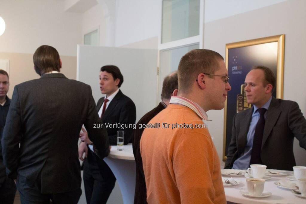 philoro Investment Day in Leipzig: Rudolf Brenner, Ronald Stöferle (06.04.2013)