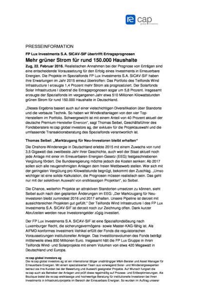 FP Lux Investments S.A. SICAV-SIF übertrifft Ertragsprognosen, Seite 1/2, komplettes Dokument unter http://boerse-social.com/static/uploads/file_669_fp_lux_investments_sa_sicav-sif_ubertrifft_ertragsprognosen.pdf (22.02.2016)