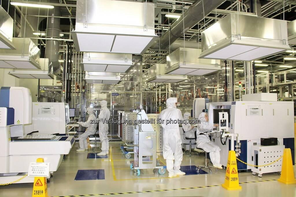 Produktion Chongqing : AT&S erhielt Zertifizierung für neues IC-Substrate-Werk in China und startet Serienproduktion mit der ersten Produktionslinie : Fotocredit: ©AT&S, © Aussendung (23.02.2016)