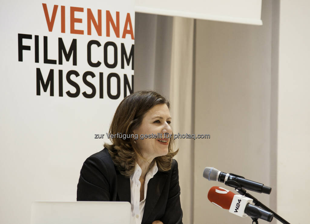 Marijana Stoisits (Geschäftsführerin) : Jahrespressekonferenz 2016 : Sieben Jahre Vienna Film Commission : Fotocredit: Vienna Film Commission/Kosel, © Aussendung (24.02.2016)