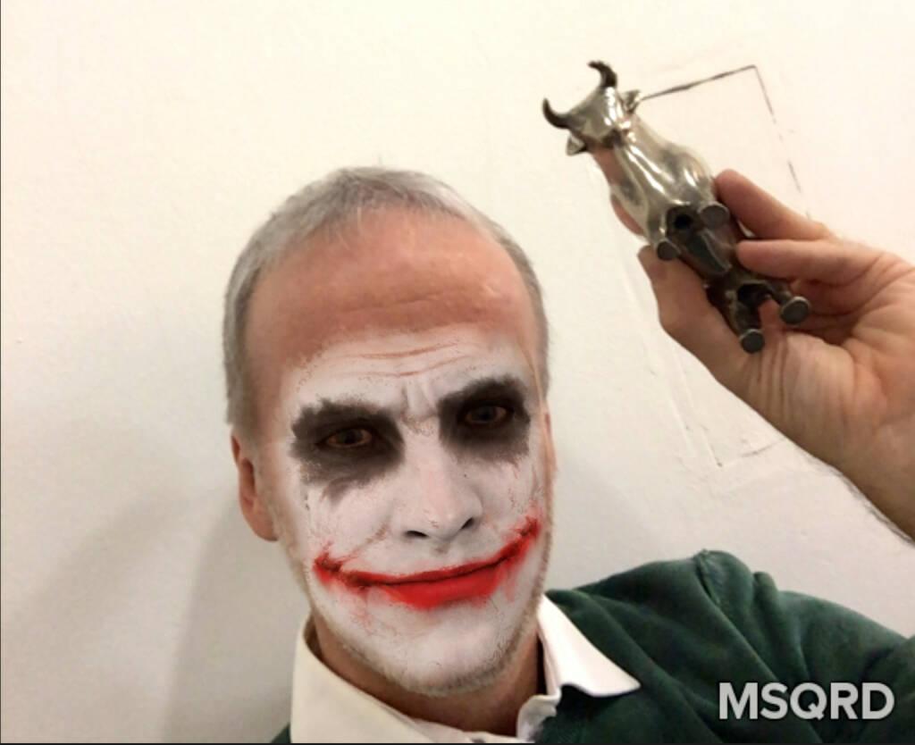 Joker Bulle Steigende Kurse rauf © via MSQRD (24.02.2016)