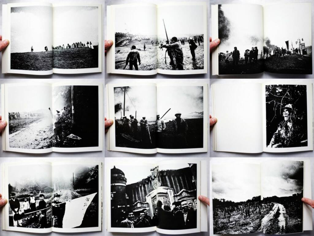 Kazuo Kitai - Sanrizuka 1969-1971 (北井一夫 三里塚 1971年), Nora-sha 1971, Beispielseiten, sample spreads - http://josefchladek.com/book/kazuo_kitai_-_sanrizuka_1969-1971, © (c) josefchladek.com (26.02.2016)