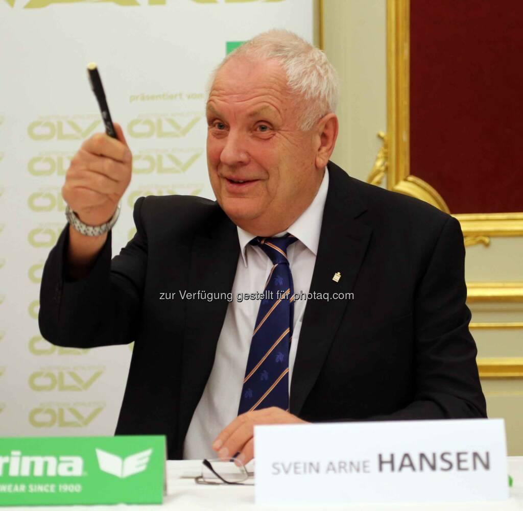 Svei Arne Hansen (EA-Präsident) (Bild: ÖLV) (01.03.2016)