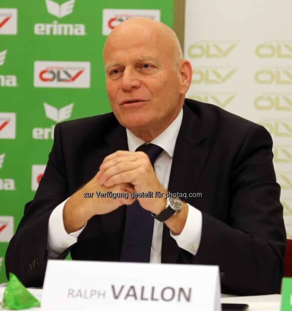 Ralph Vallon (ÖLV-Präsident) (Bild: ÖLV) (01.03.2016)