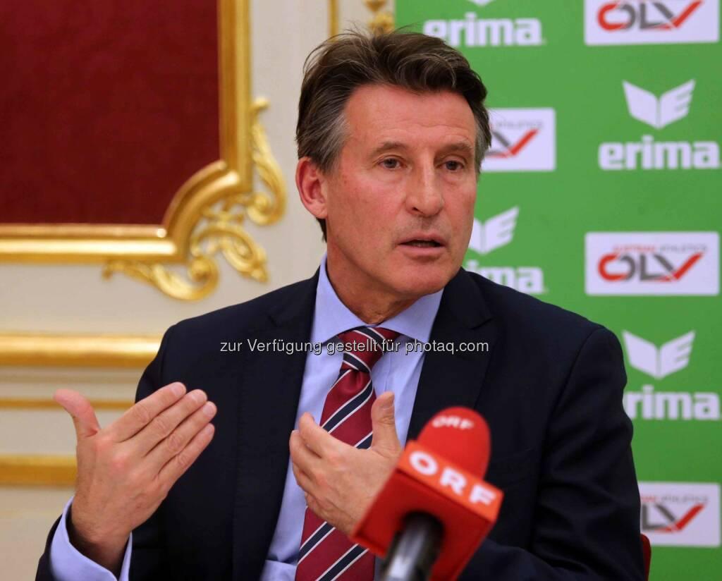 Sebastian Coe (IAAF-Präsident) (Bild: ÖLV) (01.03.2016)