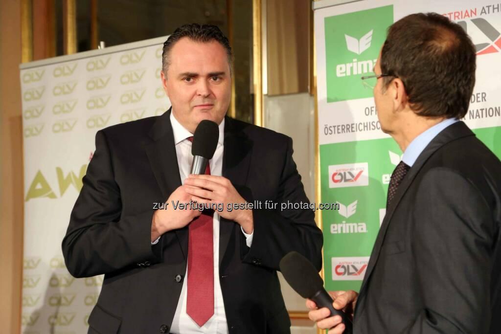 Sportminister Hans Peter Doskozil (Bild: ÖLV) (01.03.2016)