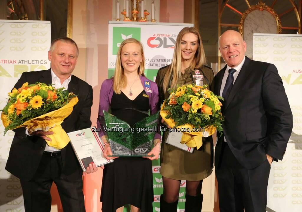 Jennifer Wenth (2. von links) (Bild: ÖLV) (01.03.2016)