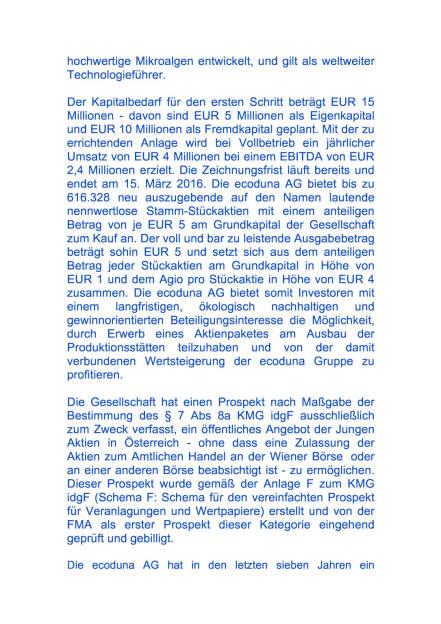 Kapitalerhöhung der ecoduna AG, Seite 2/4, komplettes Dokument unter http://boerse-social.com/static/uploads/file_699_kapitalerhohung_der_ecoduna_ag.pdf (01.03.2016)