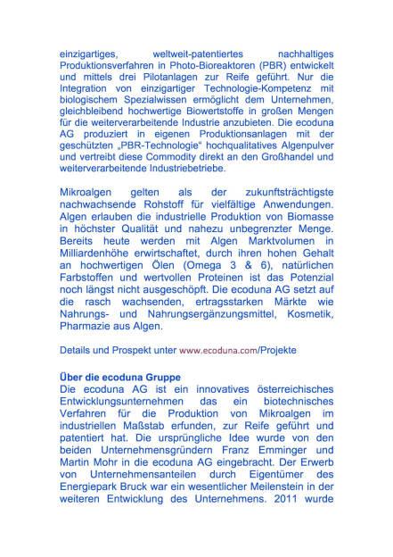 Kapitalerhöhung der ecoduna AG, Seite 3/4, komplettes Dokument unter http://boerse-social.com/static/uploads/file_699_kapitalerhohung_der_ecoduna_ag.pdf (01.03.2016)