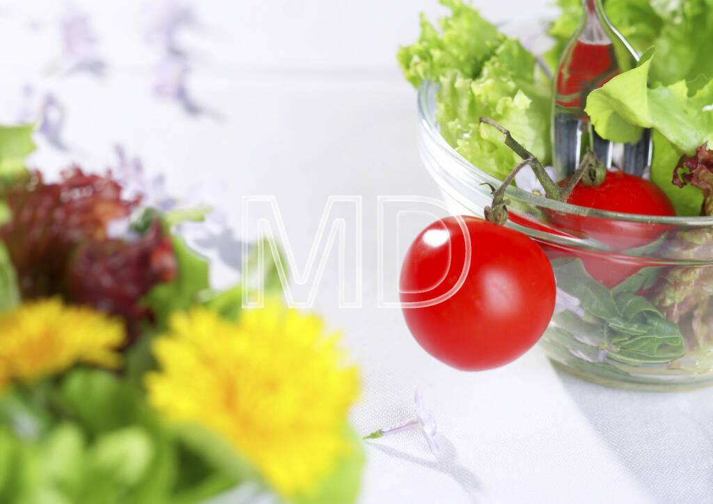 Salat mit Gabel, © Martina Draper (06.04.2013)