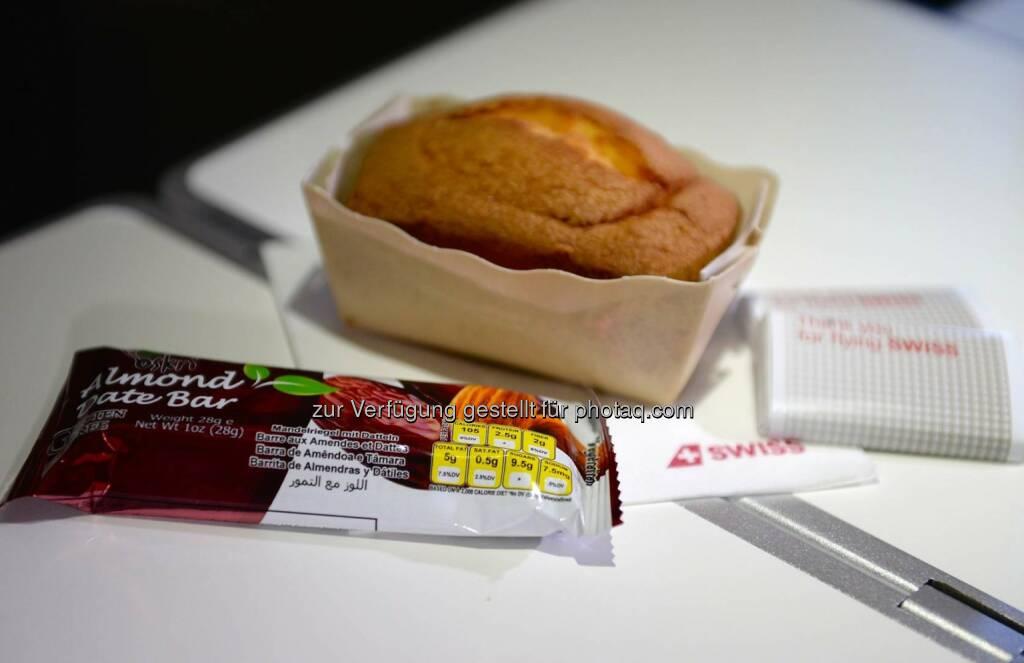 Allergyfriendly food : Swiss – die erste Allergiker freundliche Fluggesellschaft weltweit : Fotocredit: Swiss International Air Lines, © Aussender (01.03.2016)