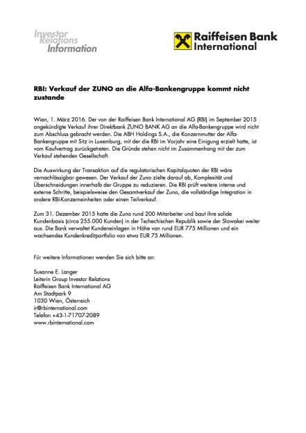 RBI: Verkauf der Zuno kommt nicht zustande, Seite 1/1, komplettes Dokument unter http://boerse-social.com/static/uploads/file_709_rbi_verkauf_der_zuno_kommt_nicht_zustande.pdf (01.03.2016)