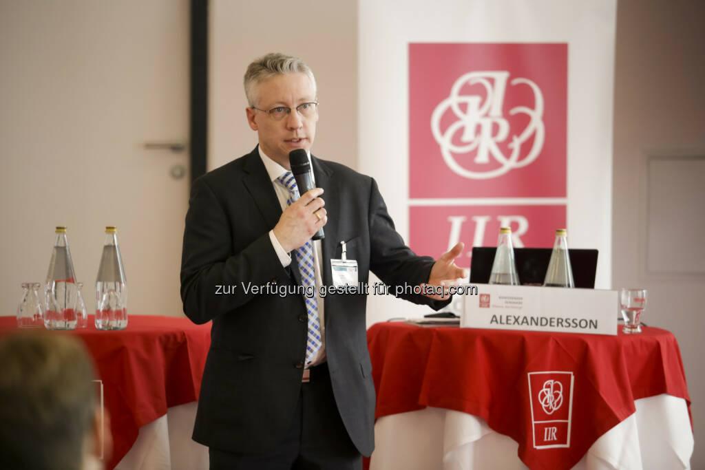"""Gunnar Alexandersson (Schweden) : Die Mobile Stadt 2030 – """"Autofrei"""" ist nicht das Ziel : Experten diskutierten die Mobile Stadt 2030 auf dem IIR Branchenevent Forum Verkehr 2016 : Fotocredit: IIR GmbH/Bartl, © Aussendung (02.03.2016)"""