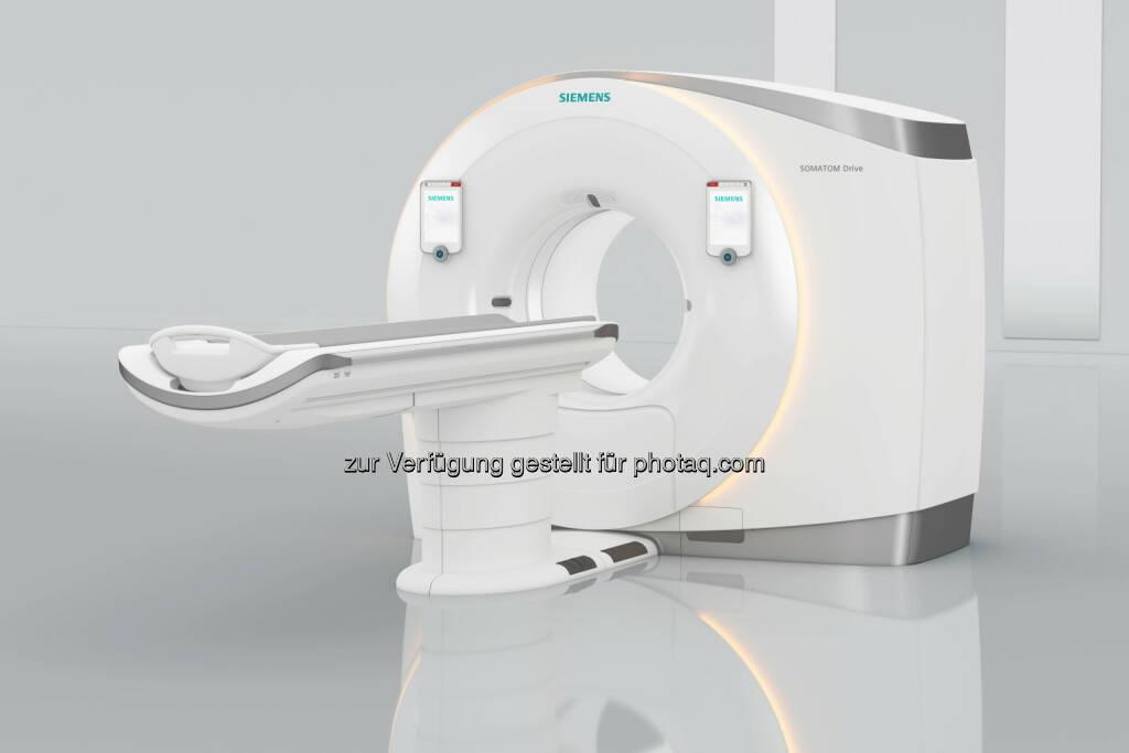 Siemens präsentiert neuen Dual-Source-Computertomographen Somatom Drive auf dem Europäischen Radiologiekongress ECR in Wien : (C) Siemens AG, © Aussender (03.03.2016)