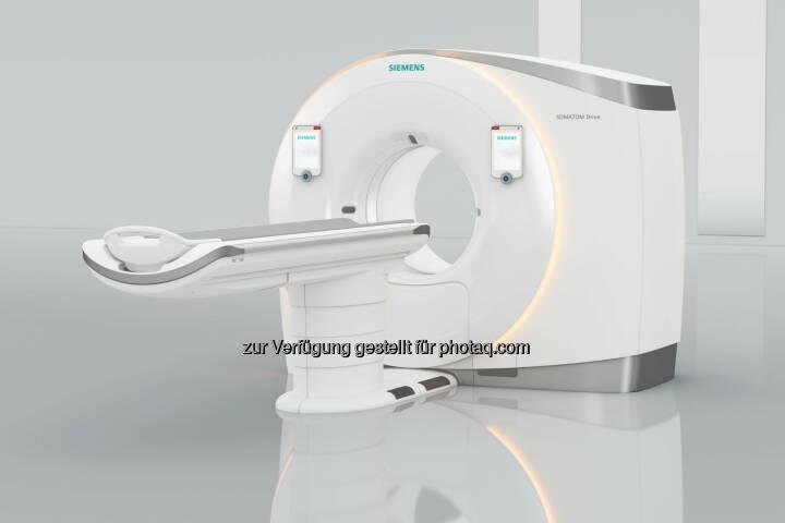 Siemens präsentiert neuen Dual-Source-Computertomographen Somatom Drive auf dem Europäischen Radiologiekongress ECR in Wien : (C) Siemens AG