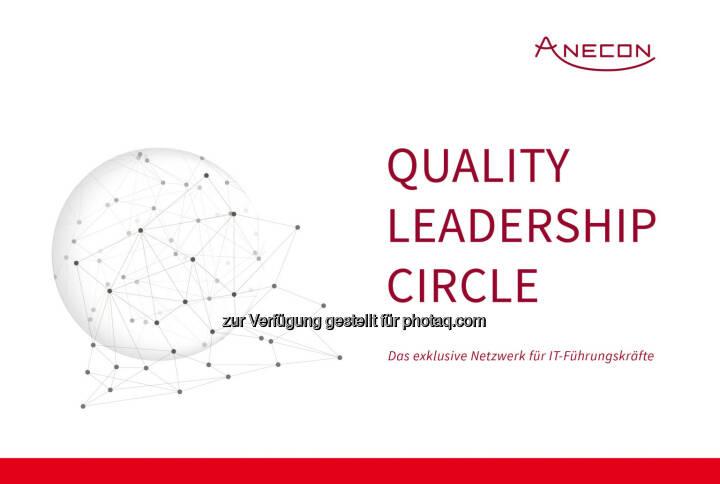 """""""Quality Leadership Circle"""" : Smarte Zusammenkunft heimischer IT-Führungskräfte : Anecon bietet mit dem Quality Leadership Circle ein Netzwerk, in dem sich CIOs und Quality Leader aus der Wirtschaft zu Themen rund um Software-Qualität und -Produktivität austauschen : Fotocredit: Anecon"""