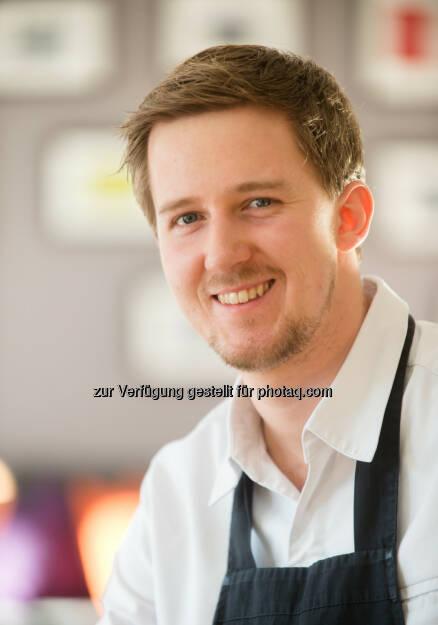 Florian Bucar (28) ist neuer Küchenchef im Biohotel der daberer in St. Daniel im Gailtal : Fotocredit: der daberer. das biohotel/Neumüller, © Aussender (03.03.2016)
